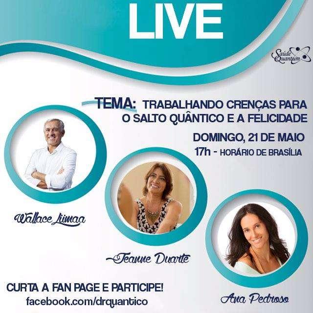 Live Ana Pedroso Wallace Liimaa e Jeanne Duarte