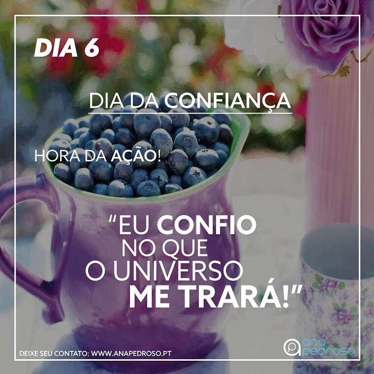 6 Dia | DIA DA CONFIANÇA