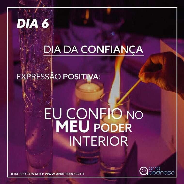 DIA 6 - DIA DA CONFIANÇA!