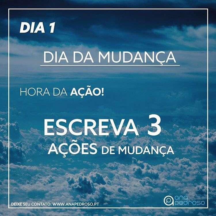 #1 Dia | EQUILIBRO A MINHA VIDA