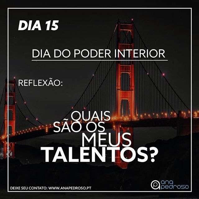 #15 Dia | DIA DO PODER INTERIOR!