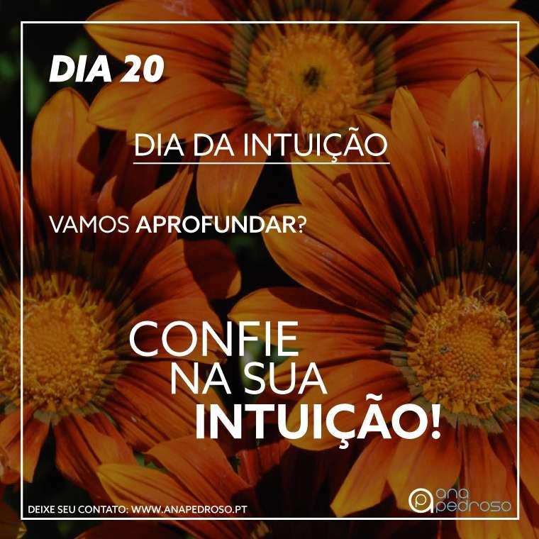 #20 Dia | DIA DA INTUIÇÃO