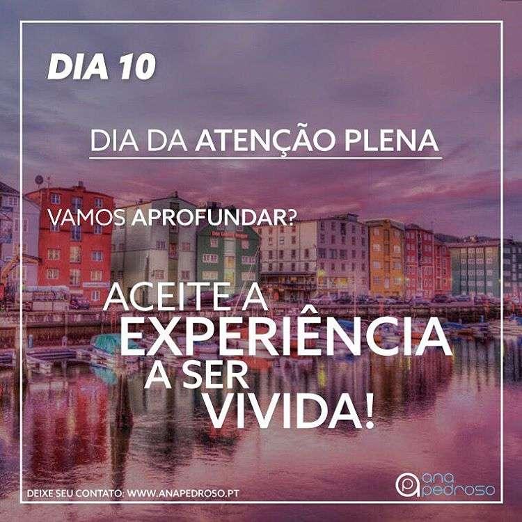 #10 Dia | DIA DA ATENÇÃO PLENA!